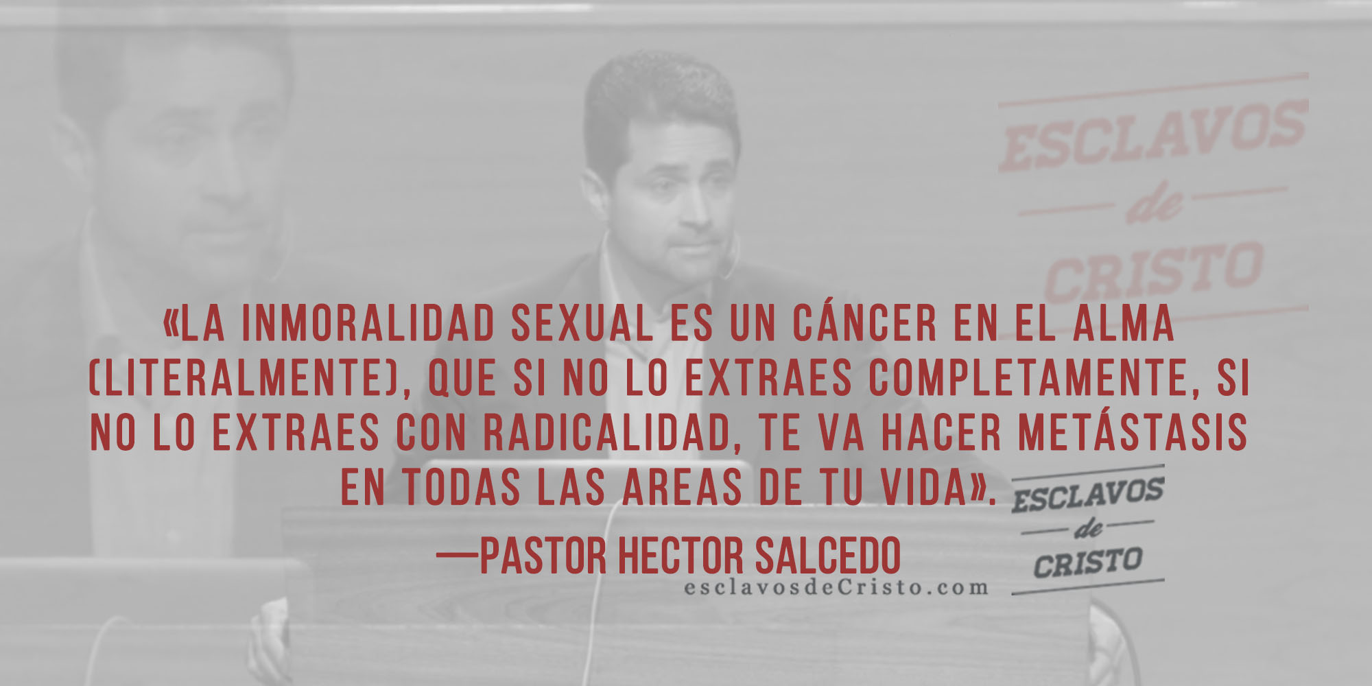 Por la Pureza Sexual Ps Hector Salcedo