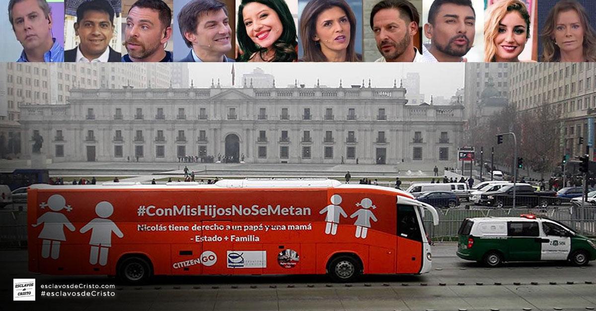 El Bus de la Libertad: Los medios de comunicación en Chile v/s  La lógica y la razonable ciencia